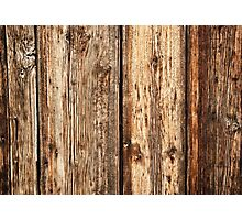 Wood texture Photographic Print