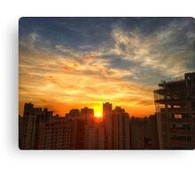 Van Gogh's Sunset Canvas Print