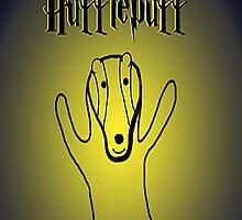 Hufflepuff by Evobrush