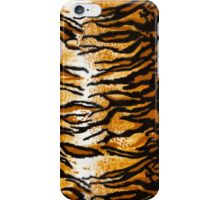 Tiger Print Background iPhone Case/Skin