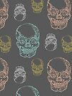 Flirty Skulls by Beth Thompson