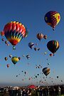 Up Up and Away! -- 840 Hot Air Balloons by John Carpenter
