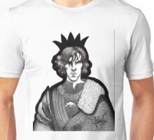 The Hollow Crown - Shakespeare's Richard III (b&w) Unisex T-Shirt