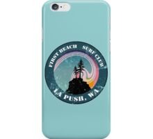 First Beach Surf Club iPhone Case/Skin