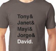 Vides Velasco Family Members Unisex T-Shirt