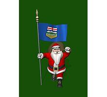 Santa Claus Visiting Alberta Photographic Print