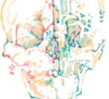 Melting skull Sticker