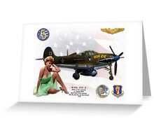 Wahl Eye II (Bell P-400 Airacobra) Greeting Card