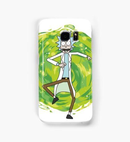 Rick through the portal Samsung Galaxy Case/Skin