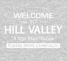 Welcome To Hill Valley (White) Kids Clothes