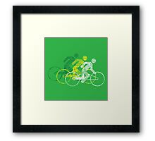 Bike Race Framed Print