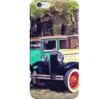 Colorful Model A's iPhone Case/Skin