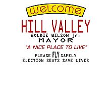 Welcome To Hill Valley (Future) Photographic Print