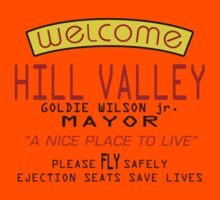 Welcome To Hill Valley (Future) Kids Clothes