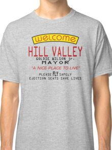 Welcome To Hill Valley (Future) Classic T-Shirt
