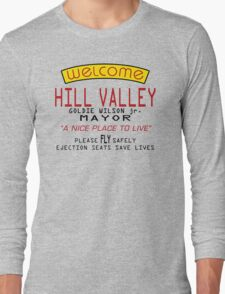 Welcome To Hill Valley (Future) Long Sleeve T-Shirt