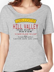 Welcome To Hill Valley (Future) Women's Relaxed Fit T-Shirt