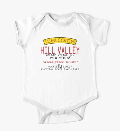 Welcome To Hill Valley (Future) One Piece - Short Sleeve