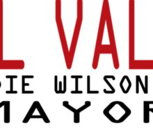 Welcome To Hill Valley (Future) Sticker