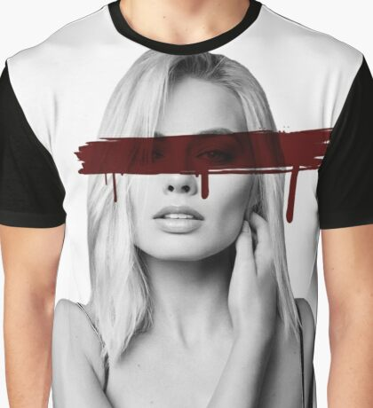 Dead Celebrities Of Our Youth - Margot Robbie Graphic T-Shirt
