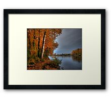 It's My Season ~ Fall Colors ~ Framed Print