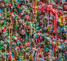 Gum Wall by DWPhoenix