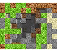 Pixel Mining Play Area 1 Photographic Print