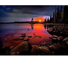 Waldo Lake ~ Sunset ~ Photographic Print