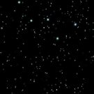 Cassiopeia Constellation Night Sky by Megan Noble