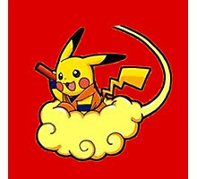 Pikachu is Flying Photographic Print