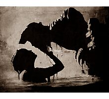 THE KISS OF THE MERMAID Photographic Print
