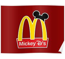Mickey D's Poster