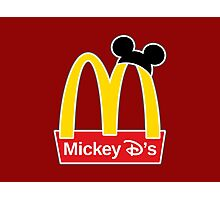 Mickey D's Photographic Print