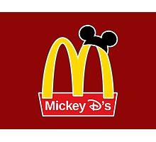 Mickey D's Photographic Print