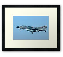 Phantom FGR.2 XV429/K with RAT deployed Framed Print