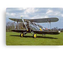 Fairey Flycatcher replica G-BEYB Canvas Print