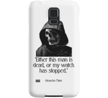 Either this man is dead... Groucho Marx Samsung Galaxy Case/Skin