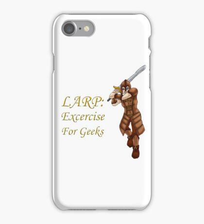 LARP: Exercise for Geeks iPhone Case/Skin