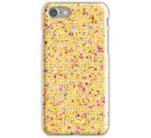 Antique Texture Lemon Yellow iPhone Case/Skin