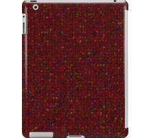 Antique Texture Garnet Red iPad Case/Skin