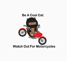 Motorcycle Biker Cat Unisex T-Shirt