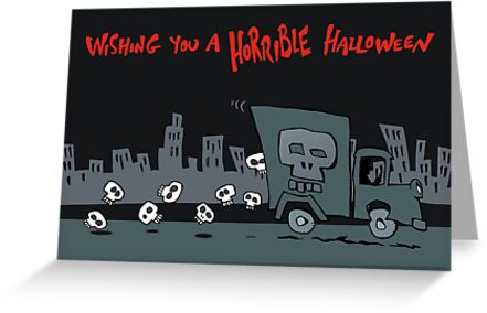 skull truck by Matt Mawson