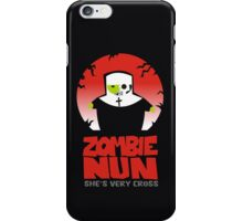 zombie nun iPhone Case/Skin
