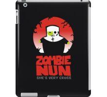 zombie nun iPad Case/Skin