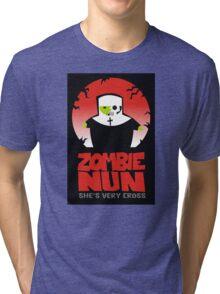 zombie nun Tri-blend T-Shirt
