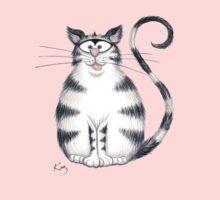 Kazart Fat Cat Tee Kids Clothes