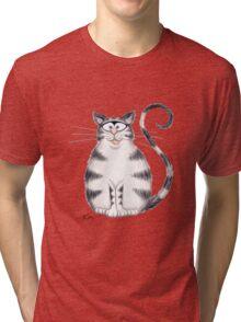 Kazart Fat Cat Tee Tri-blend T-Shirt