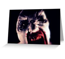 Vampyre Attack Greeting Card