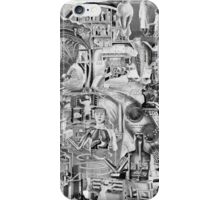 Modern Medical Chart. iPhone Case/Skin