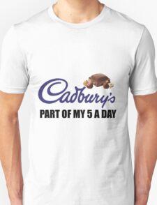 Cadburys, Part Of My 5 A Day! T-Shirt